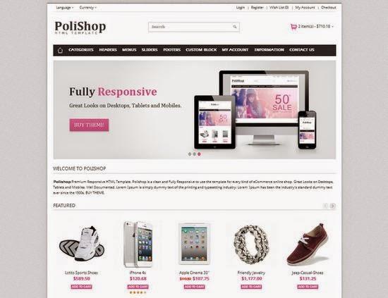 20 koleksi template toko online gratis download blog romeltea. Black Bedroom Furniture Sets. Home Design Ideas