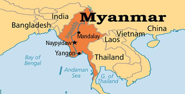 Ketampakan Alam dan Keadaan Sosial \Negara Myanmar