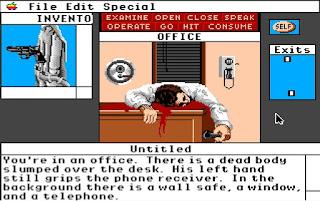 Deja Vu A Nightmare Comes True - Versión Apple IIGS