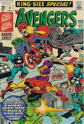 Avengers King-Size Special Annual #4, Masters of Evil