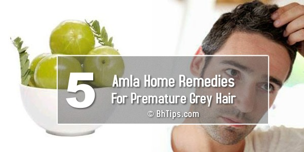 5 Best Amla Home Remedies For Premature Grey (White) Hair