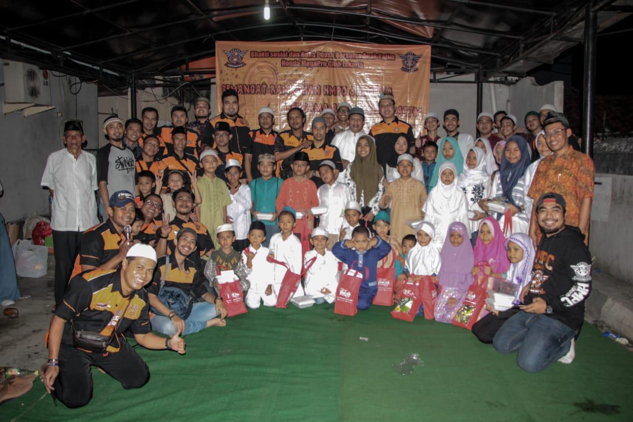 HMPC Indonesia Jakarta Buka Bersama Masyarakat Dan Anak Yatim Di Sekitaran Lokasi Kopdar