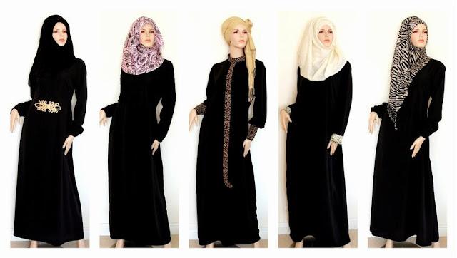 design abaya terbaru di arab