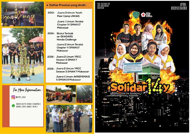 Pendaftaran Ekskul PMR-PMI Unit 250 SMK Darussalam Makassar Angkatan XIV Tahun 2020
