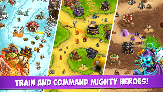 Screenshot Kingdom Rush Vengeance - Apcoid