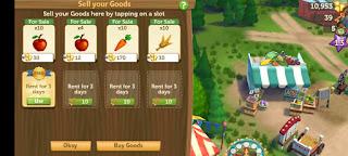 Membuka Toko di Game FarmVille 2: Country Escape