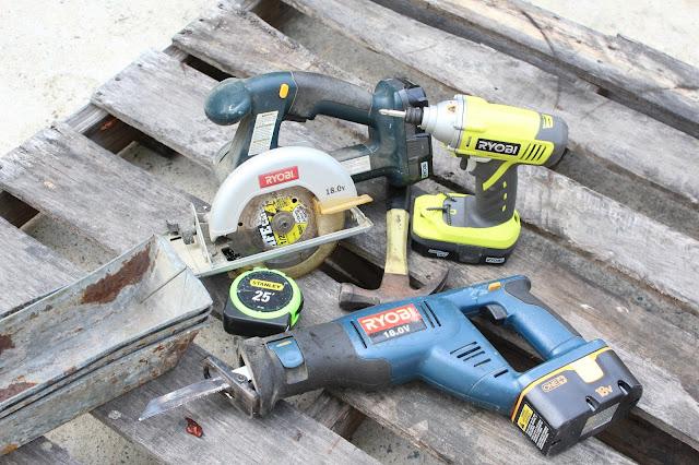 Ryobi power tools make this DIY project easy