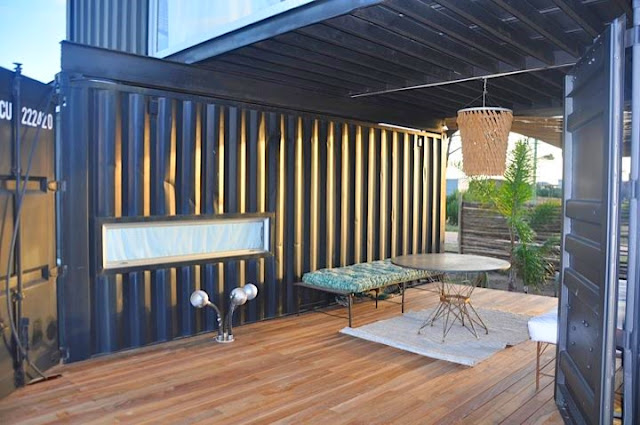 2x40 ft and 2x20 ft Shipping Container Home by Project Container, Uruguay 7