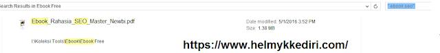 Cara mencari banyak file diwindows explorer2