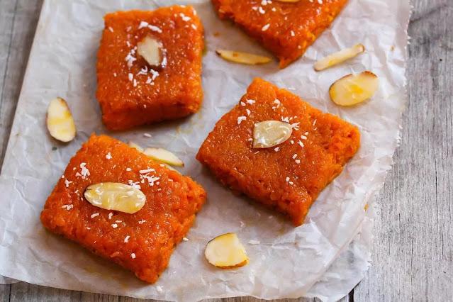 Gajar Ki Barfi Recipe in Hindi