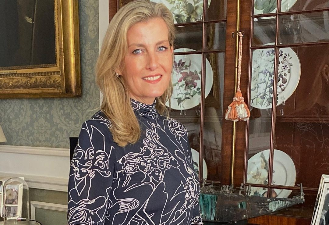 The Countess of Wessex, Sophi, took to a video call to announce the winner of The Queen Elizabeth II Award for British Design 2021.