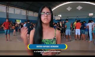 Na cidade de Guarabira PB, o governo municipal se destaca na qualidade do transporte publico afirma alunos beneficiados pelo transporte