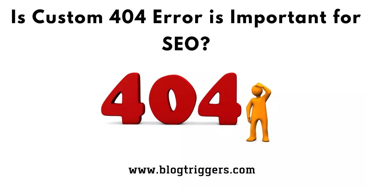 Is Custom 404 important for search engine optimization (SEO)?