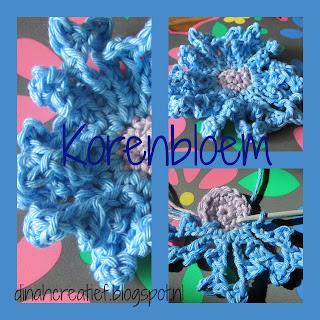 Dinah Creatief Veldbloemen Krans Diy Deel 4 De Korenbloem