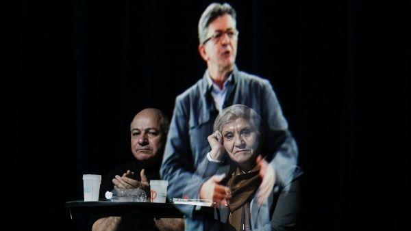 Candidato francés usa holograma para que lo represente