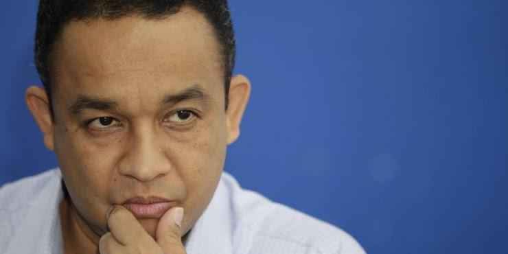 Anies Baswedan Enggan Berkomentar Setelah di Doakan Menjadi Presiden