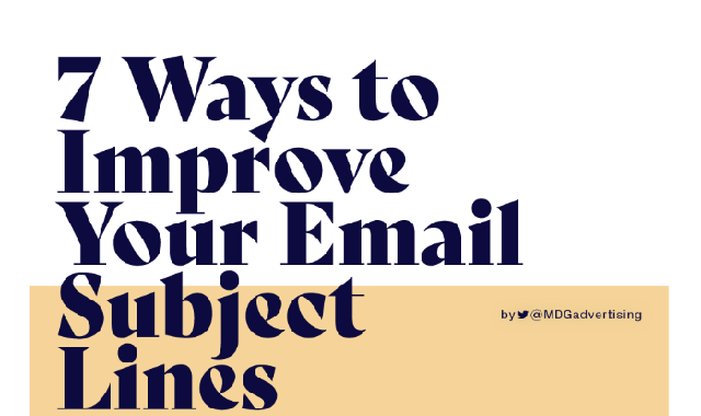 Ways to Improve Your Promotional Emails #Infographic