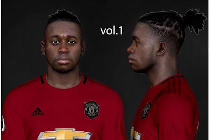 A. Wan-Bissaka Face (Man United) - PES 2017