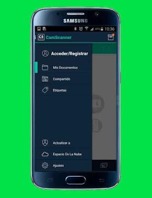Descargar e instalar CamScanner para dispositivos android