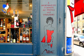 Sunday Street Art : Miss Tic - rue Robert Planquette - Paris 18
