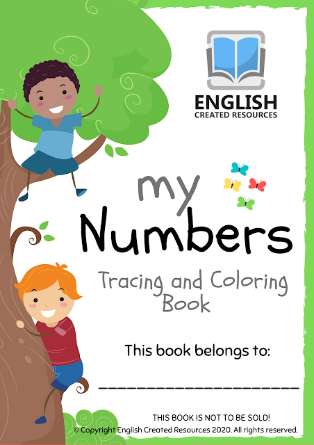 My numbers Tracing and Coloring Book