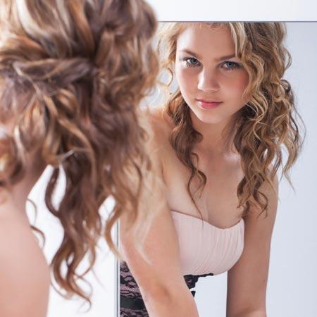 Prime Prom Hairstyles For Long Hair Down Loose Curls Short Hair Fashions Short Hairstyles Gunalazisus