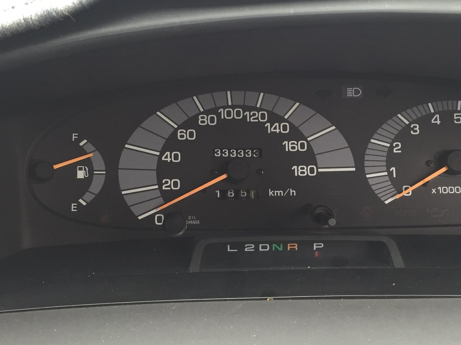 Toyota Previa With Many Miles