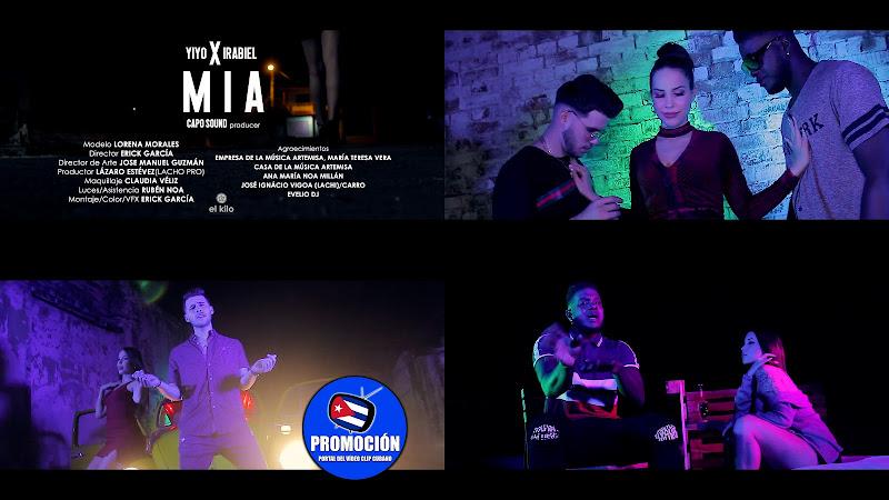 Yiyo & Irabiel - ¨Mía¨ - Videoclip - Director: Erick García. Portal Del Vídeo Clip Cubano. Música cubana. Reguetón. Cuba.