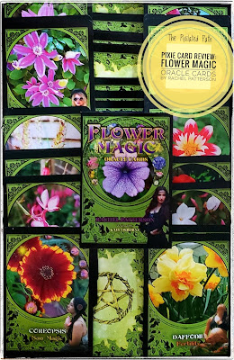 Cards & Guidebook from Flower Magic Oracle Cards by Rachel Patterson