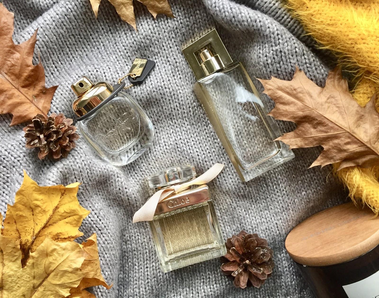 Moje ulubione perfumy na jesień/zimę
