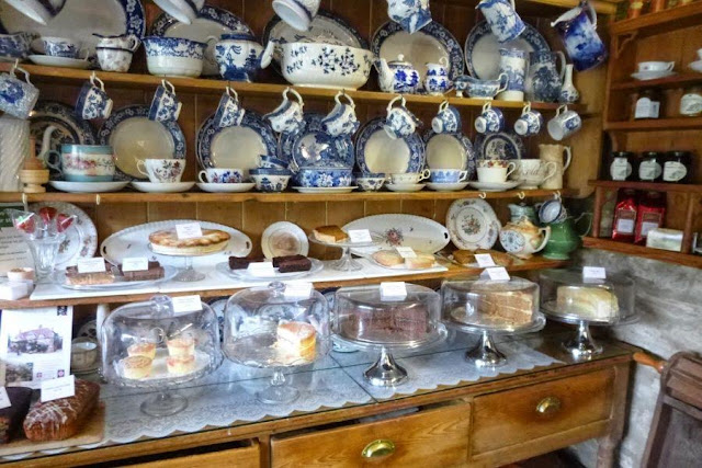 Places to visit near Bath UK: King John's Hunting Lodge Tea Room in Lacock
