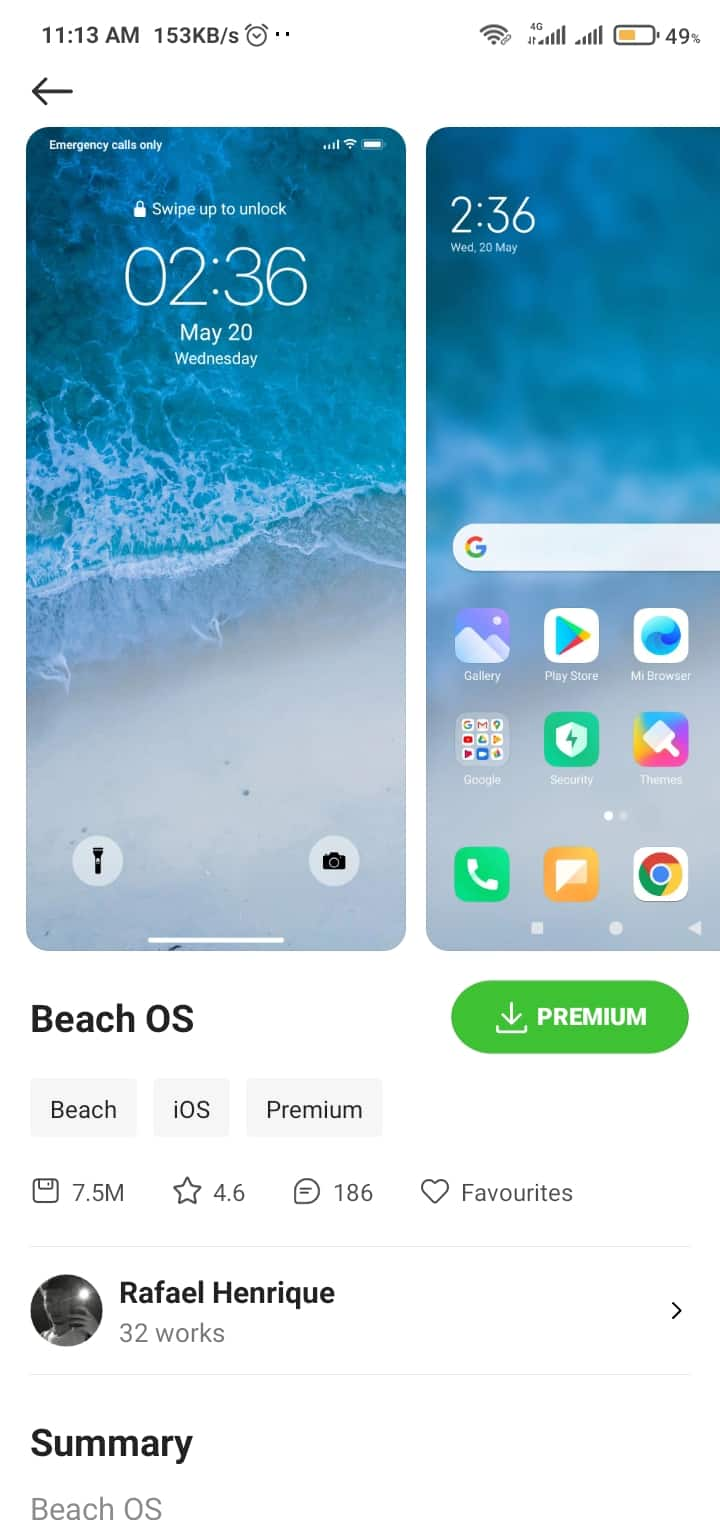 best miui 12 themes