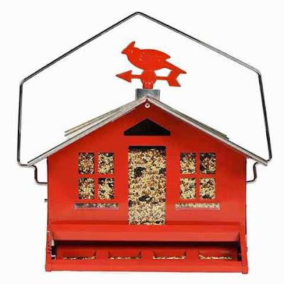 Perky-Pet 338 Country House Cardinal Bird Feeder