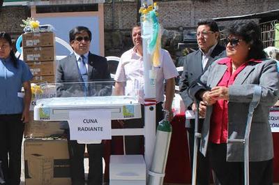 Equipan establecimientos de salud de Huánuco