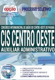 Apostila CIS Centro-Oeste Paraná - Consórcio Intermunicipal de Saúde do PR 2016.