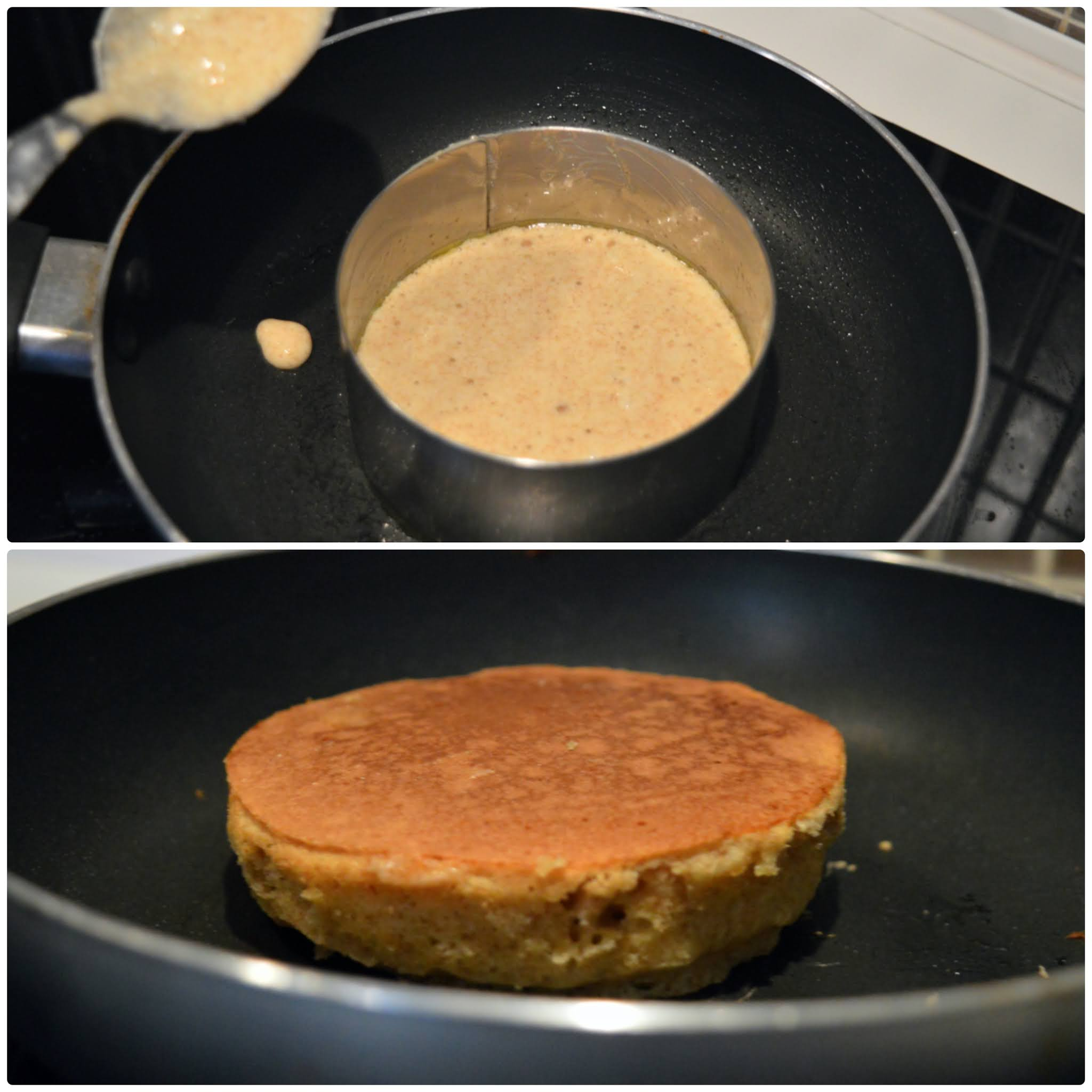 Cuisson Fluffy pancakes