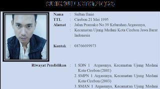 Contoh CV (Curriculum Vitae) Pdf