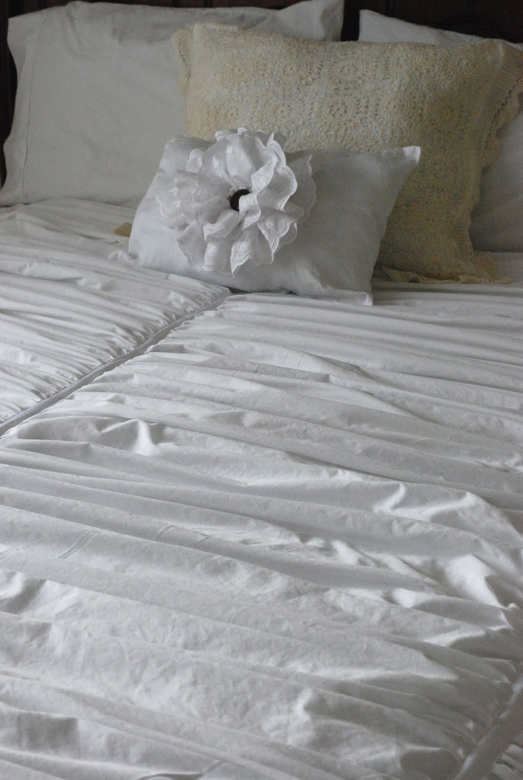 Fussy Monkey Business Pottery Barn S Hadley Ruched Duvet