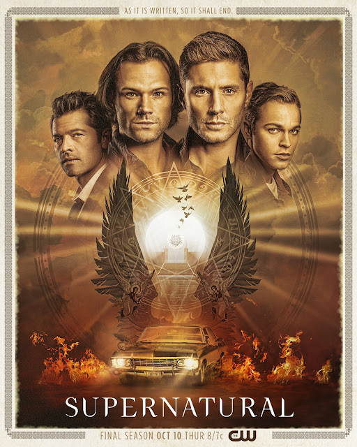 Supernatural final season poster