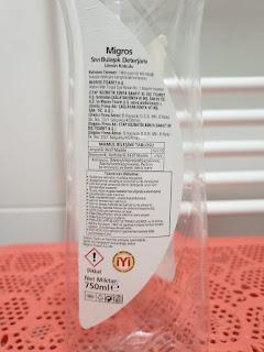 etap kozmetik sıvı bulaşık deterjanı, elde bulaşık ilacı