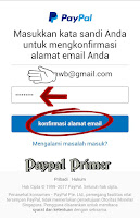 isi password Paypal