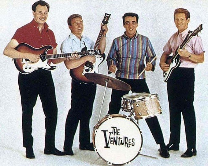 The Ventures - Hawaii Five-0 (Video)