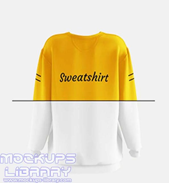 women sweatshirt mockup 3