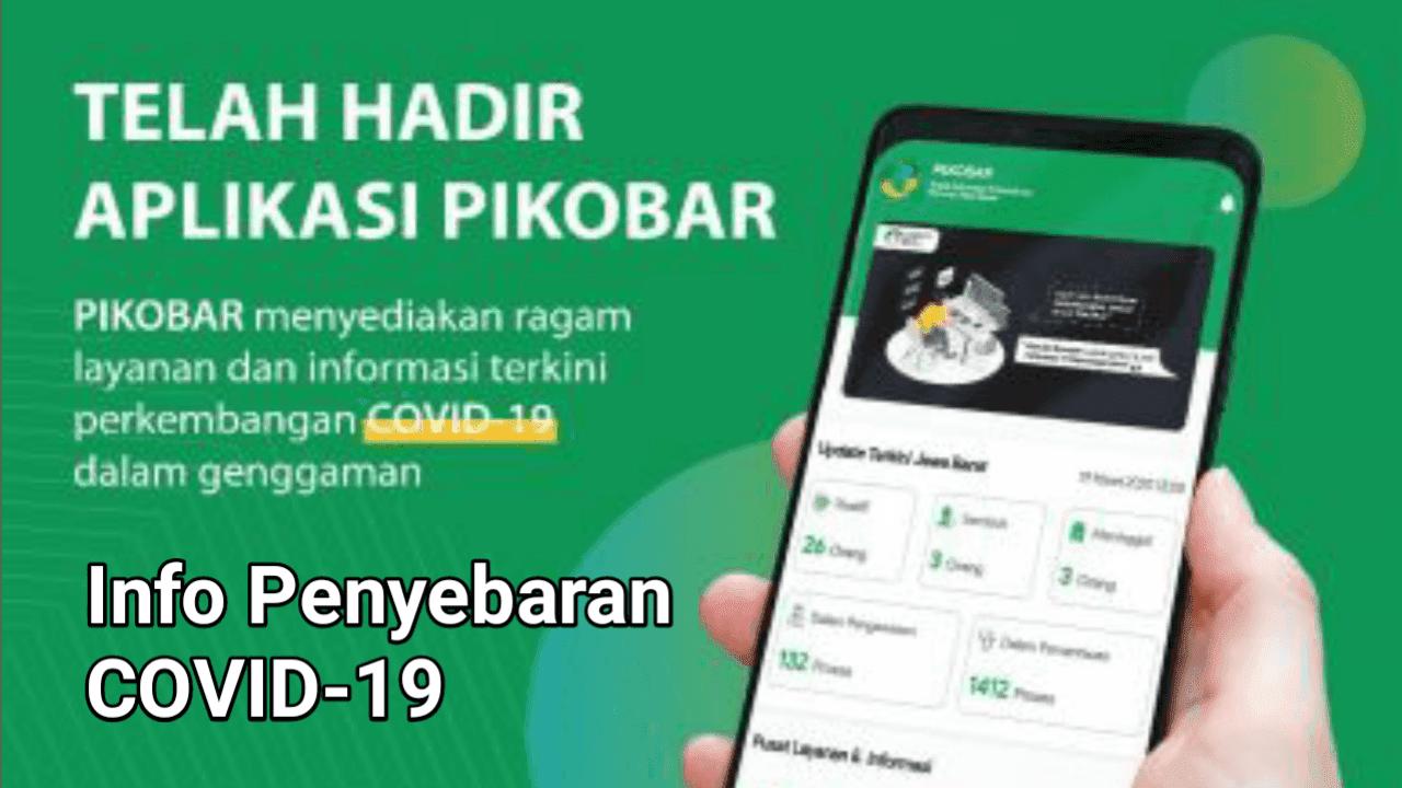 Info Terkini COVID-19 Wilayah Jawa Barat Bisa Diakses Melalui Aplikasi PIKOBAR