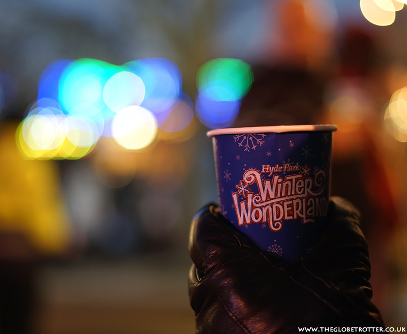 Winter Wonderland at Hyde Park in London