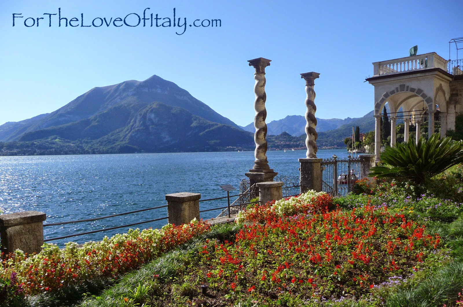 A Picture of Villa Monastero in Varenna, Italy (Lombardy) Lake Como, Italy © 2014 For The Love Of Italy