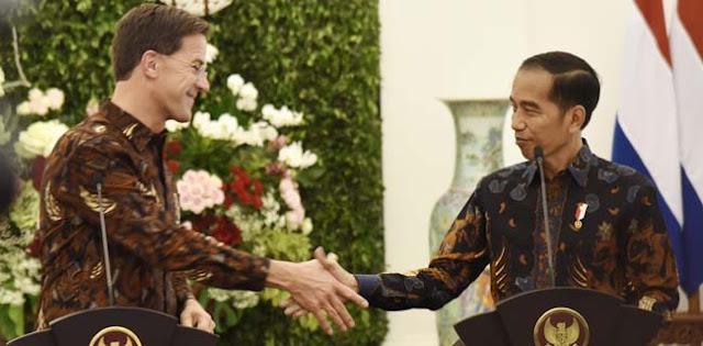 Jokowi Harap Belanda Dukung Indonesia Hadapi Tekanan Kebijakan Sawit Uni Eropa