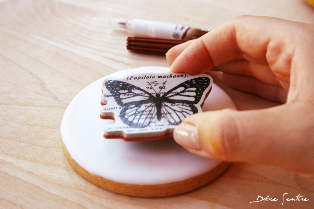 Galletas decoradas con sellos de goma o 'Rubber Stamps' {Foto Tutorial}