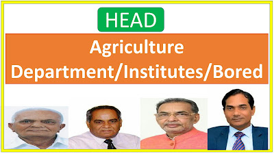 Agriculture Institutions Chairman