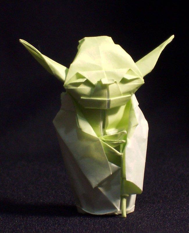 Origami Maniacs: Origami Jedi Master Yoda by Fumiaki Kawahata - photo#20